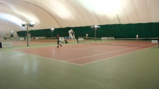 5 декабря 2014 Белгород Теннис 14 М Финал Агафонов Новиков Хайлайт DSC 1374+(, 2014-12-06T12:55:46.000Z)