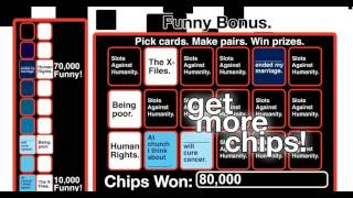 Slots Against Humanity  Marketing Ad