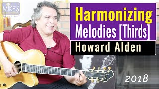 Howard Alden's Techniques for Harmonizing Melodies with Thirds