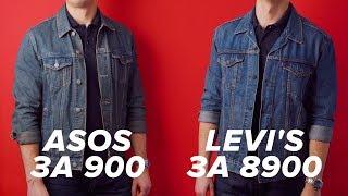 Чем отличается Levis Truсker Jacket от джинсовки с ASOS? Есть ли разница?