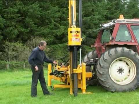 Rock Spike Transfer System For Fence Post Drivers Youtube