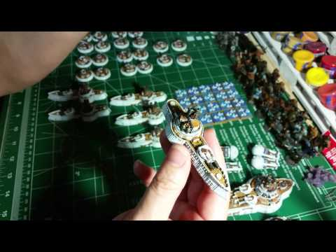 Dystopian Wars Russian Coalition Arctic Naval Fleet Completed