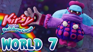 Kirby and the Rainbow Curse: World 7 (4-Player)