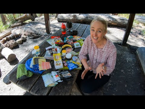 How To Pack Food For An Overnight Hike
