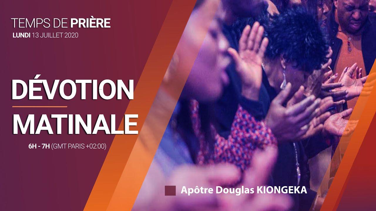 DÉVOTION MATINALE 13/07/2020 - Servante Laure AKOTO