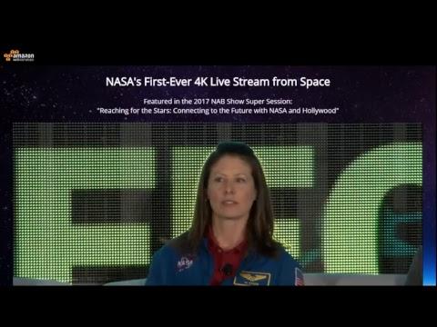 NASA - Erster Live Stream in 4K - Willkommen Hollywood!
