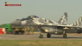 Военная авиация Украины в действии