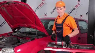 Cum se inlocuiesc kit-ul de reparare al suportului de amortizor pe VW GOLF 4 [TUTORIAL]