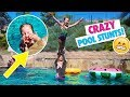 SUMMER TIME POOL PARTY and TRICKS!