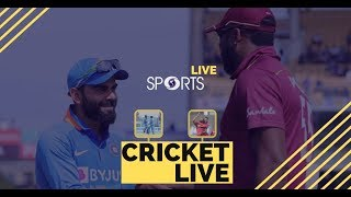 India vs West Indies - Series Decider | Cricket LIVE | DD Sports