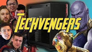 Techvengers - Infinity War PC Build Off! | OzTalksHW
