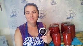 Томатный сок и томаты в собственном соку на зиму.