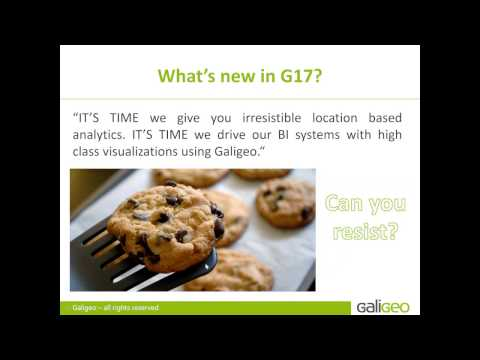 NEW! Galigeo for SAP BusinessObjects G17: step into Geo visualization!