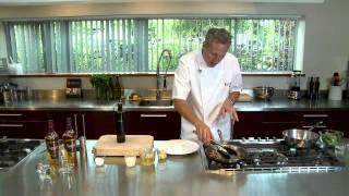 Nick Nairn Makes Collops Of Beef With Whisky And Mushroom Cream