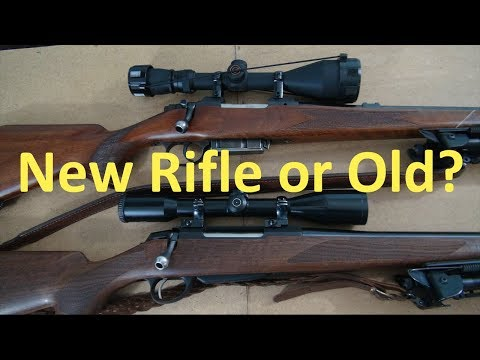 First Hunting Rifle: New or Old?