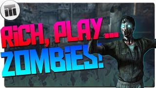 bo1 throwback and story time with rich rich play zombies