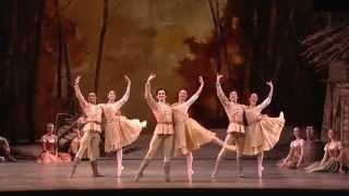 Giselle (2014, Royal Ballet), Act 1, No.5-2: Pas de Six, Yuhui Choe, Valentino Zucchetti