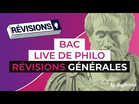 Bac 2017 - Révisions LIVE de Philo : Révisions générales