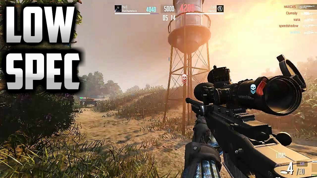 18 Best Free Fps Games For Low End Pc Youtube