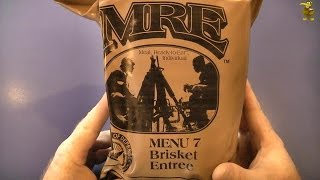 Mre Review - Menu 7 - Beef Brisket Entree (2012)