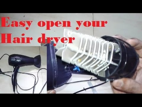 how to open a dryer
