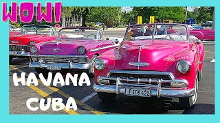 CUBA: The AMERICAN CLASSIC CARS from the 1950s in HAVANA