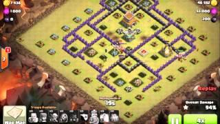 UNBELIEVABLE CLAN WAR ATTACKS! CLASH OF CLANS WINGSRULE STRATEGIES