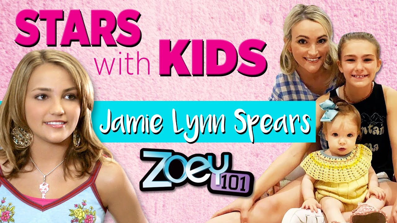 Zoey 101 Star Jamie Lynn Spears Has Two Kids of Her Own | Stars With Kids