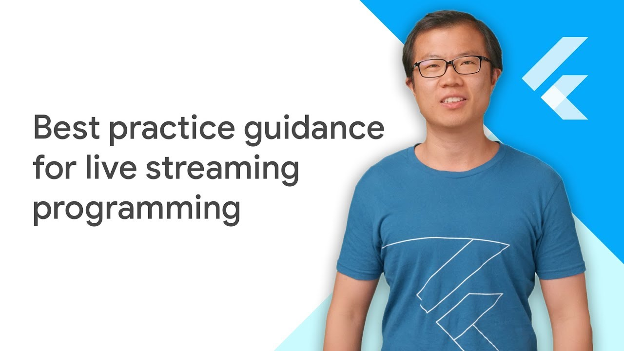 Best practice guidance for live streaming programming