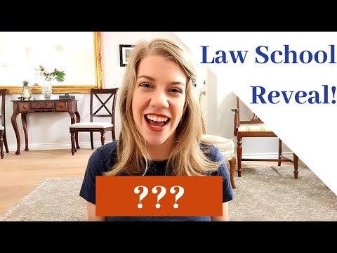 How I Chose My Law School + Choice Reveal!