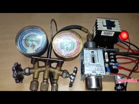 Danfoss Oil Pressure Switch Wiring And Testing Youtube
