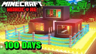 I Survived 100 Days of Hardcore Minecraft and this is what happened...