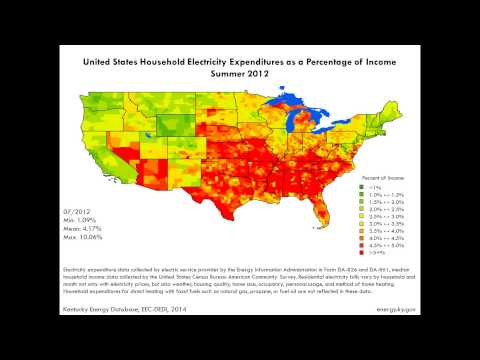 Electricity Bills as a Percentage of Household Income