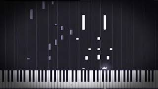 Sadness and Sorrow - Naruto [Piano Tutorial] (Synthesia)  // Mr.Meeseeks Piano