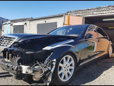 Что убивает двигатель Mercedes. W221 5.5 за 265.000 р.