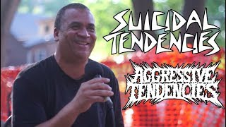 Suicidal Tendencies on cops cutting LA mural gig, Warped Tour, Travis Barker | Aggressive Tendencies