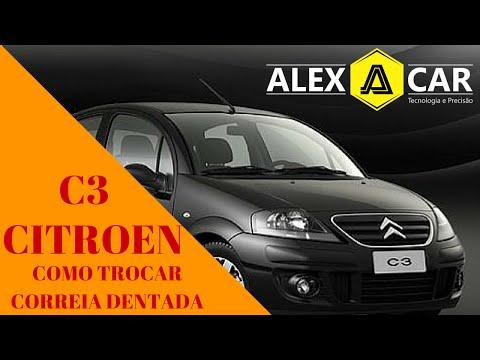 ALEX CAR - Como Trocar a Correia Dentada do Citroen C3 - SERVIÇO