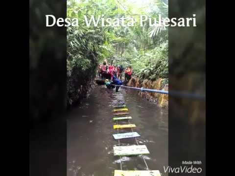 Desa Wisata Pulesari Tracking Sungai Youtube