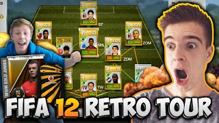 RETRO FIFA 12 ULTIMATE TEAM TOUR! NOSTALGIE PUR!