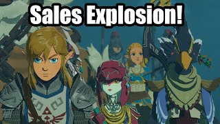 Hyrule Warriors Age Of Calamity Sales Explode In Wake Of Tokyo Game Show Youtube