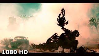Американские штурмовики бомбят скорпиона-трансформера | Трансформеры (2007)