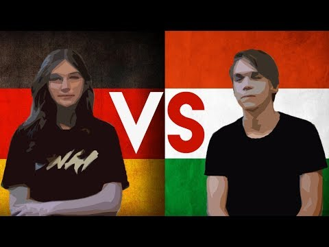 GERMAN VS HUNGARIAN - (The Devil's Languages Challenge)