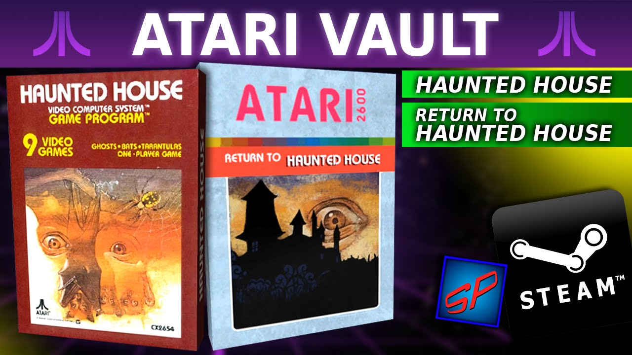 Atari vault haunted house return to haunted house as for The house returns