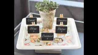 Place Card Holders And Favor Ideas