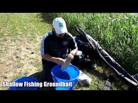 Fishing Shallow Groundbait