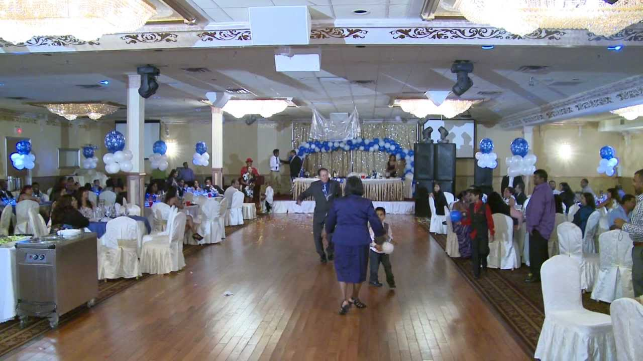 The first dance of the 70th birthday party at indian new for 1st birthday hall decoration ideas