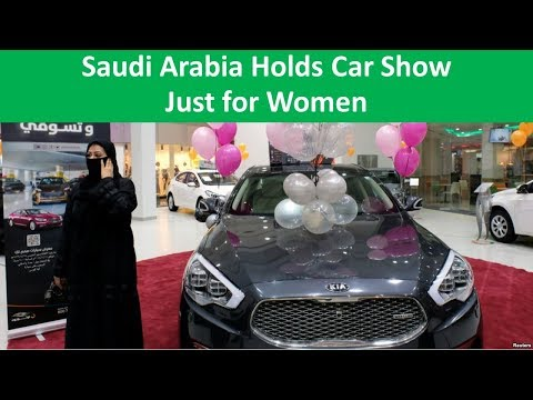 Learn English with VOA News - Saudi Arabia Holds Car Show Just for Women