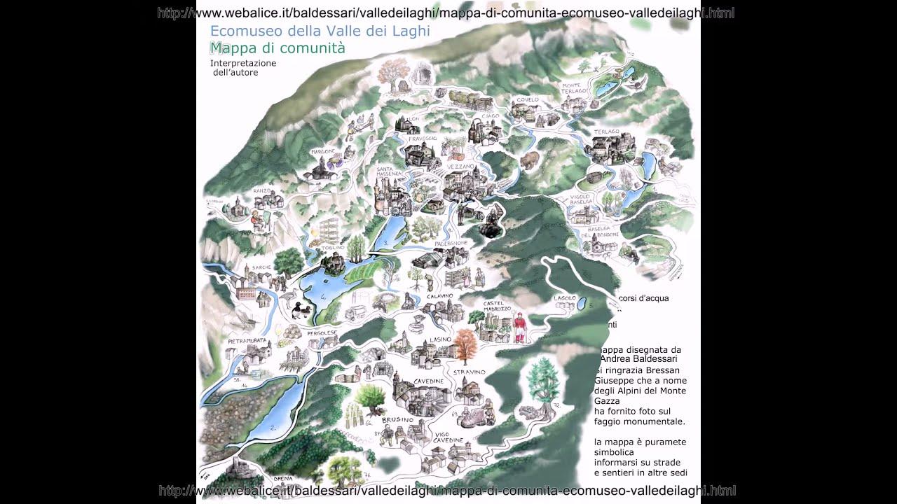 Disegnare la mappa di comunit della valle dei laghi youtube for Mappa della costruzione di casa