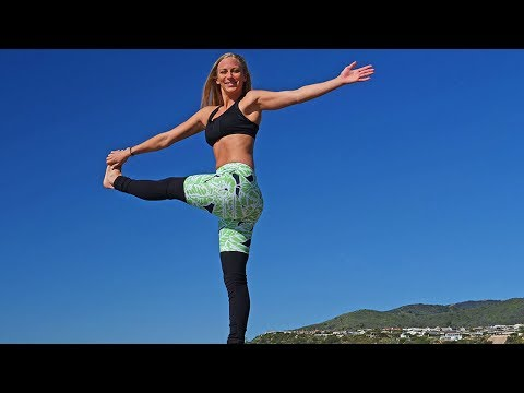 35 Min Cardio & Toning Workout // Yoga Cool Down