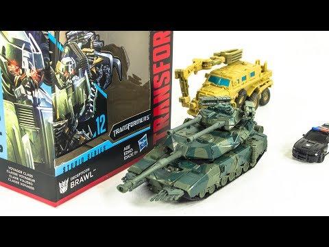 Transformers Movie Studio Series SS-12 Voyager Class Brawl Tank Vehicle Robot Toys